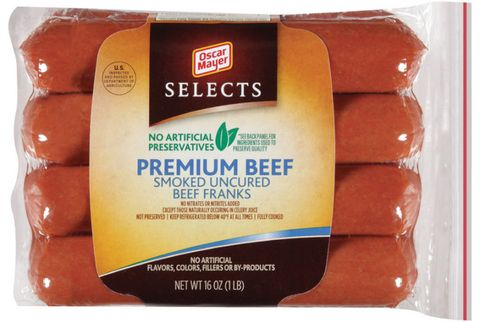 oscar mayer selects premium beef franks