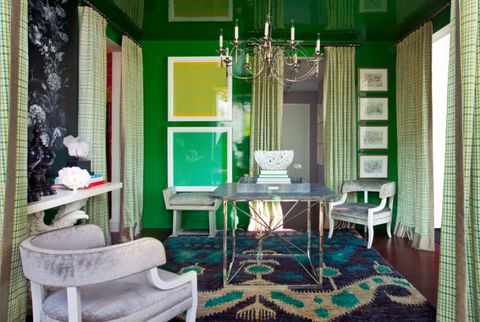 Emerald Green Room