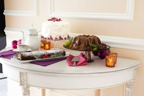 holiday desserts table
