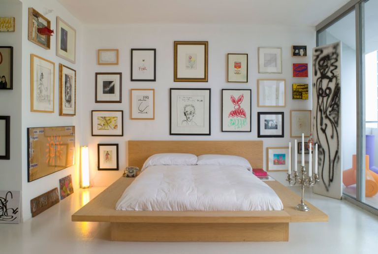 Artsy Bedroom
