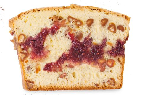 peanut butter and jelly pound cake