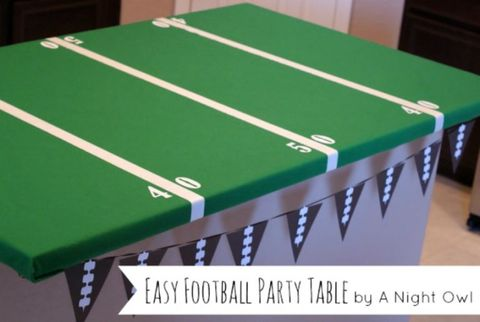 20 Fun Super Bowl Crafts Super Bowl Themed Diy Ideas