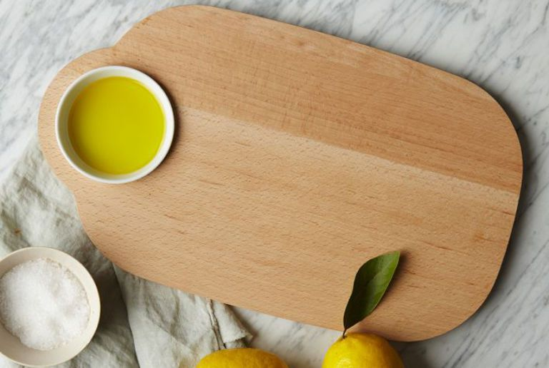 serving board and dip bowl