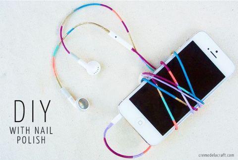 Nail Polished Headphones