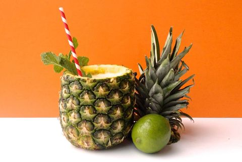 Tropical Pineapple Rum Punch