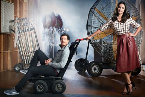 Brooklyn Nine Nine Andy Samberg Melissa Fumero