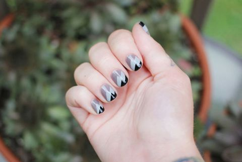 image - Gray Nail Art Ideas - Chic Manicures With Gray Polish