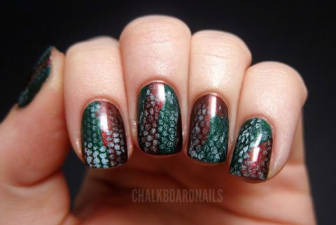 Animal Print Nail Art Manicure Ideas With Leopard And Animal Print