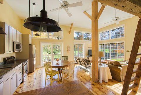 Wood, Room, Interior design, Lighting, Floor, Hardwood, Home, Flooring, Ceiling, Furniture,