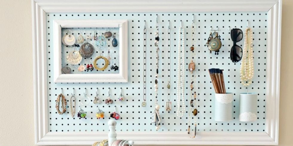 Pegboard Organizing Ideas - Creative Ways to Use Pegboards