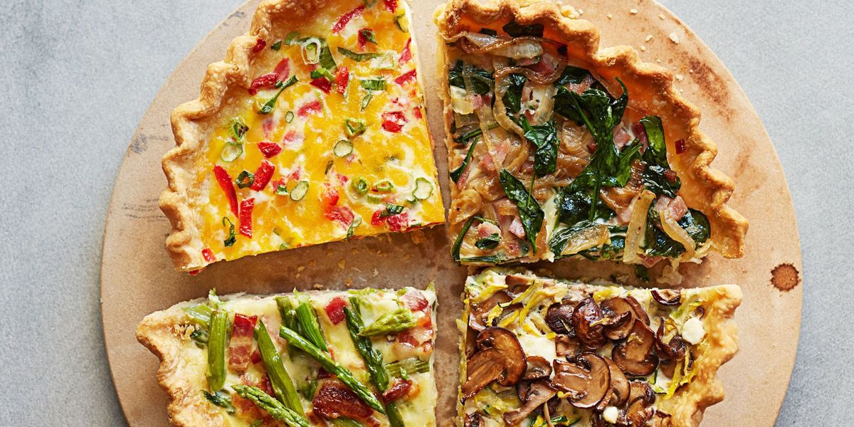 Ham And Spinach Make Ahead Quiche Recipe