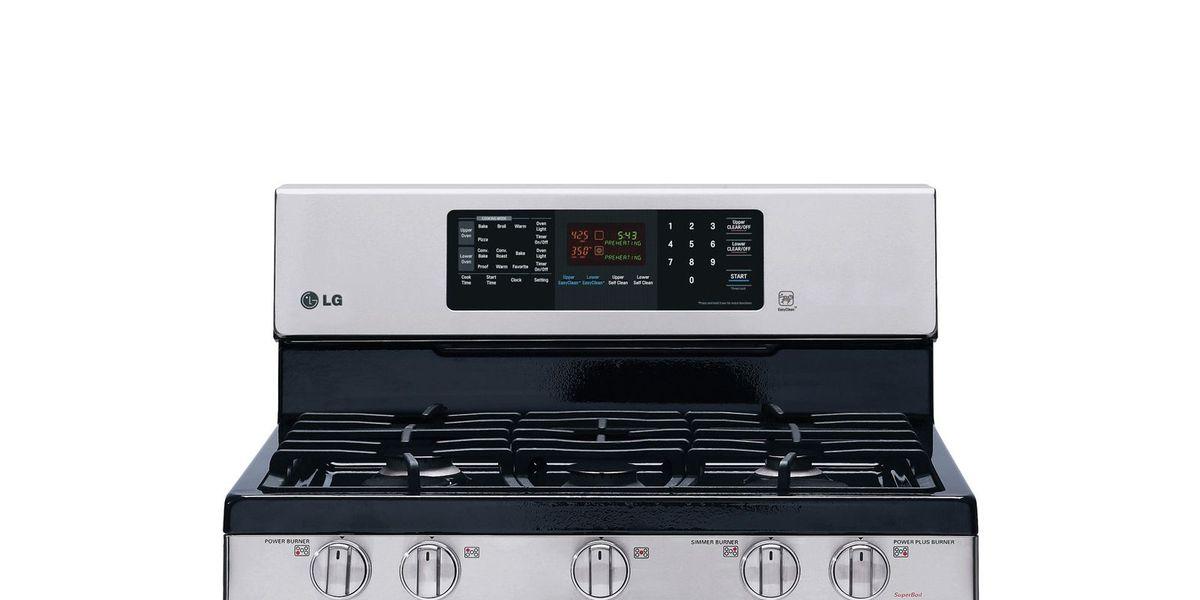 lg gas double oven range model ldg3036st review. Black Bedroom Furniture Sets. Home Design Ideas