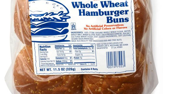 Calories In Hot Dog Bun Whole Wheat