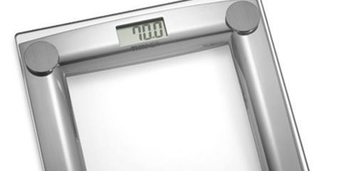 Thinner Gl And Chrome Digital Scale