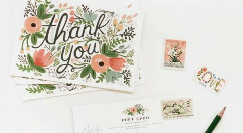 Thank You Note Etiquette  Guidelines For Writing Thank You Notes