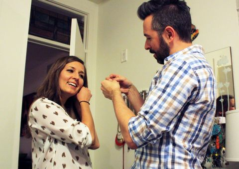 Husband Dresses Wife for a Week - Man Picks Out Outfits for His Wife