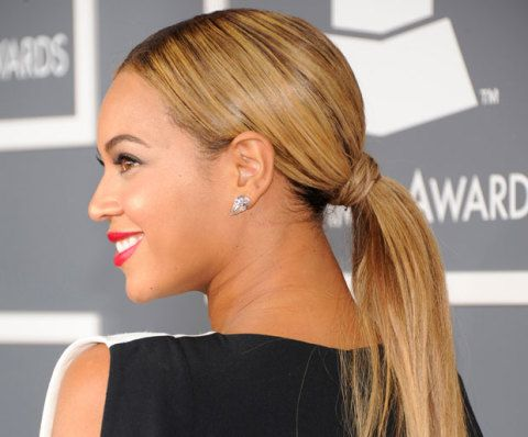 The Best Ponytail Ever , How to Get a Sleek Ponytail