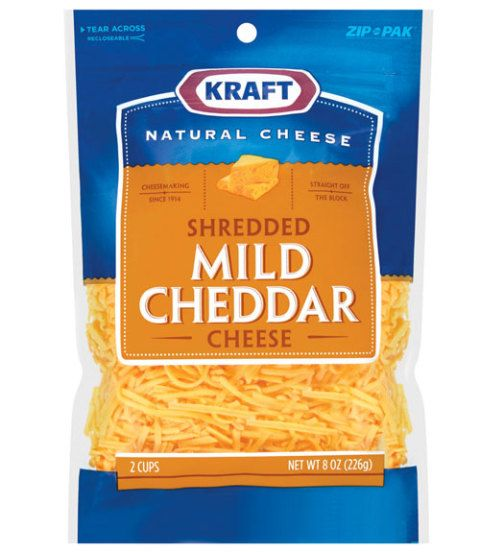 Kraft Natural Shredded Mild Cheddar Cheese Review