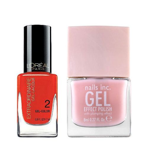 How to Get a Gel Manicure at Home - New Gel Nail Polishes