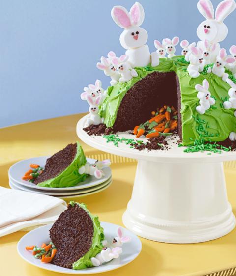 Family Circle Easter Carrot Cake Recipe