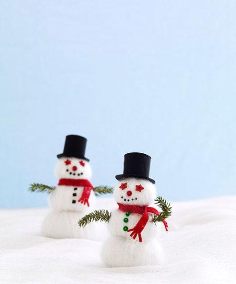 Snowman Crafts Easy Kids Snowman Craft