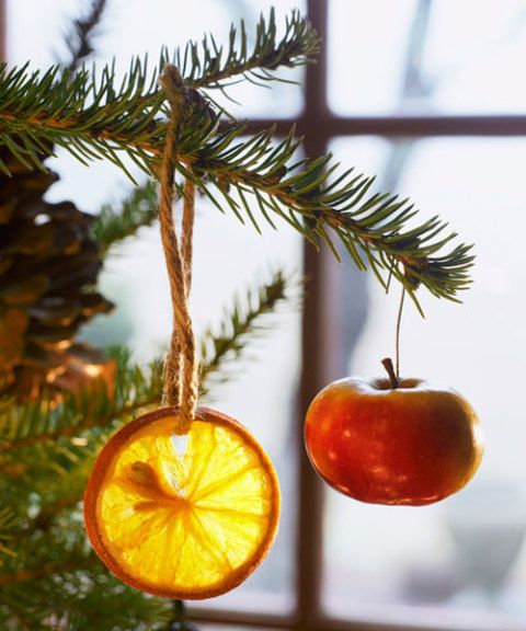 fruit christmas ornaments