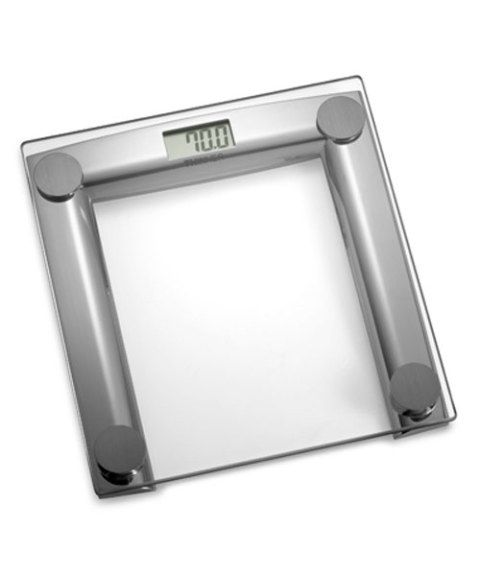 Thinner Gl And Chrome Digital Scale