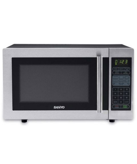 Sanyo Microwave Combination Oven: Sanyo Mid-Size Microwave Oven EM-S6588S Review