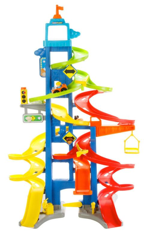 Fisher‐price Little People 174 Wheelies City Skyway Review