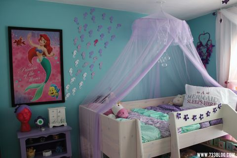 Room, Interior design, Textile, Bed, Pink, Mosquito net, Purple, Bedroom, Interior design, Bedding,