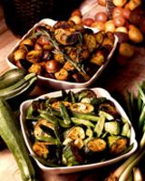 baby potatoes with rosemary