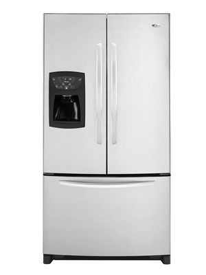 Amana 25 Cu Ft French Door Refrigerator Afi2538aes