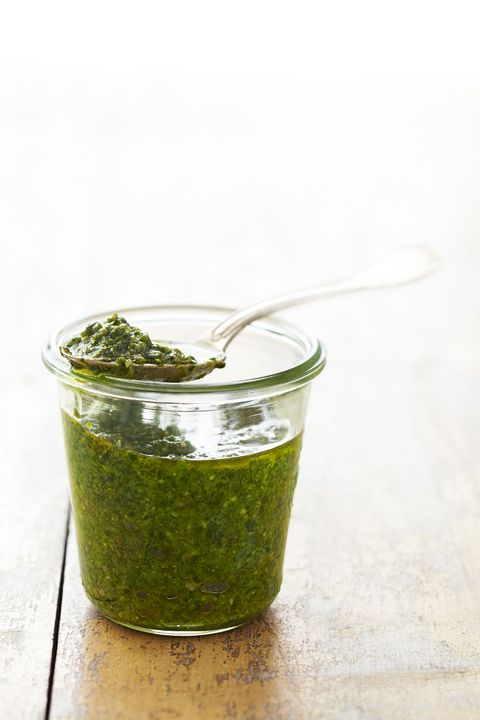 spoonful of pesto