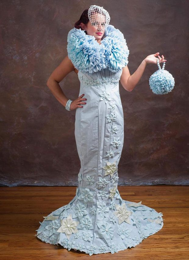 Toilet Paper Wedding Dress Competition - Gorgeous Wedding Dresses ...