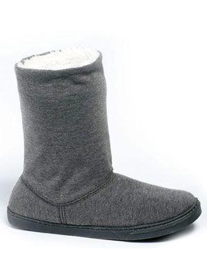 Dearfoams Jersey Boot Women\'s Slippers Review