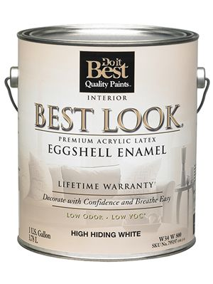 Do It Best Quality Paints Look Eggshell