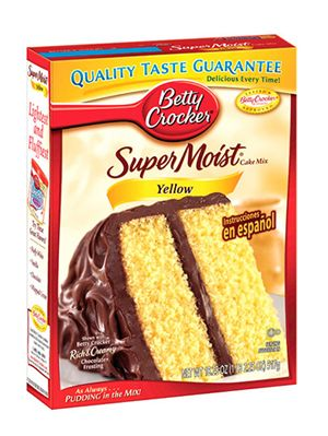 Betty Crocker Supermoist Yellow Cake Mix Review