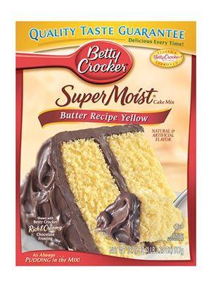 betty crocker supermoist butter recipe yellow cake mix review