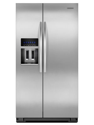 KitchenAid Standard Depth Side By Side Refrigerator Architect Series II  Model #KSF26C4XYY00 Review