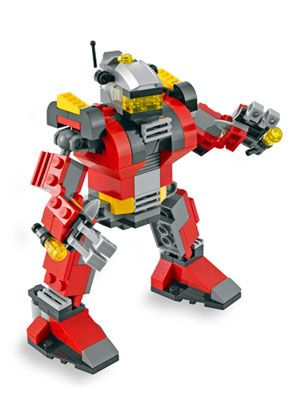 Lego Creator Rescue Robot Review