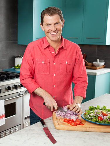 Bobby Flay In His Kitchen