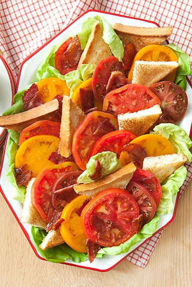 heirloom blt salad