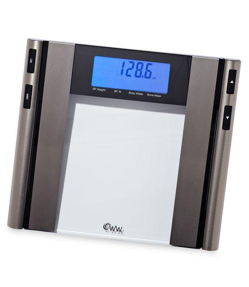 Weight Watchers By Conair Gl Satin Nickel Body Ysis Scale Ww97 Review