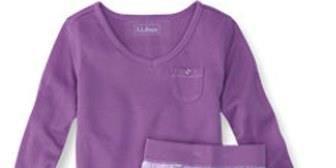 22169083f5 L.L. Bean Recalls Girl s Pajamas - Violation of Flammability Standard
