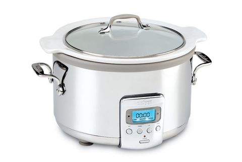 All Clad 4 Qt Electric Slow Cooker With Ceramic Insert