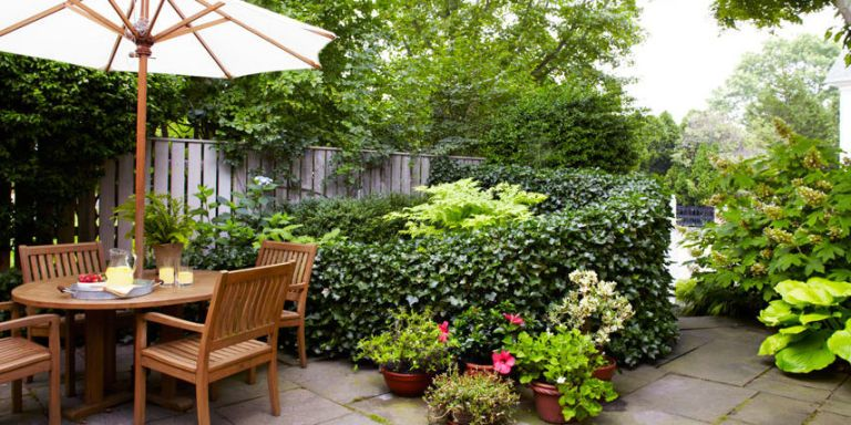Patio Garden. You Donu0027t Have To Call Versailles Home To Design A Stunning  Outdoor Space U2014 Even With A Petite Patch Of Green, The Creative Planters  And ...