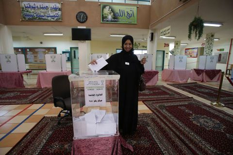 Le donne dell'Arabia Saudita hanno votato per la prima volta nella loro storia.