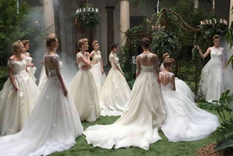 Clothing, Dress, Gown, Wedding dress, Photograph, White, Formal wear, Bridal clothing, Beauty, Fashion,
