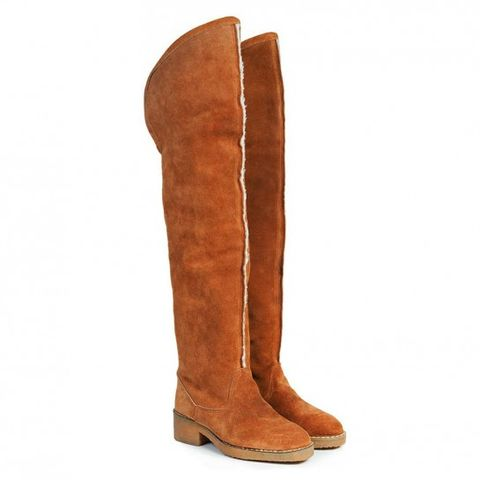Brown, Boot, Riding boot, Tan, Leather, Liver, Beige, Knee-high boot, Snow boot, Natural material,