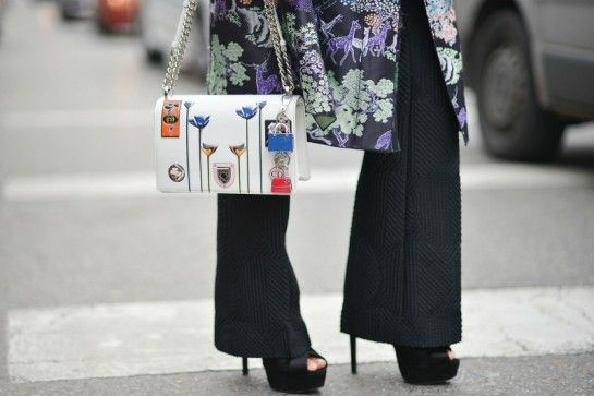 Milano fashion week 2016 borse street style